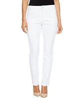 Jag Jeans Petite - Petite Portia Straight in White Denim