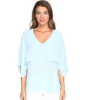 Karen Kane - V-Neck Double Layer Top
