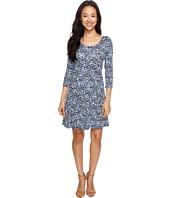 Karen Kane - 3/4 Sleeve Flared Godet Dress