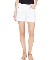 Jag Jeans - Alex Boyfriend Shorts in White Denim w/ Destruction