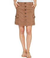 Jag Jeans - Boardwalk Button Front Skirt in Bay Twill