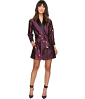 HOUSE OF HOLLAND - Spaceship Jacquard Wrap Dress