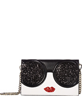 Alice + Olivia - Stace Face Glitter Long Wallet Crossbody
