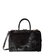 Alice + Olivia - Croc Embossed Haircalf Eloise Bowler Bag