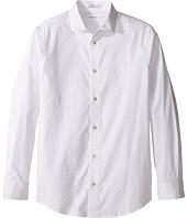 Calvin Klein Kids - Long Sleeve Dot Print Shirt (Big Kids)