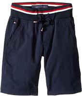 Tommy Hilfiger Kids - Signature Pull-On Shorts (Toddler/Little Kids)