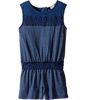 Splendid Littles - Indigo Romper with Lace (Little Kids)