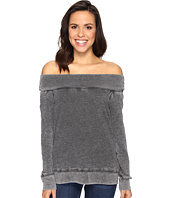 Allen Allen - Off the Shoulder Sweatshirt