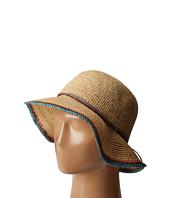 SCALA - Crochet Raffia Bucket with Contrasting