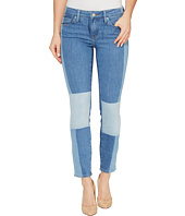 Mavi Jeans - Adriana Ankle Mid-Rise Skinny in Indigo Blocking Icon