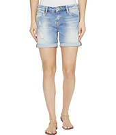 Mavi Jeans - Pixie Boyfriend Shorts in Light Ripped/Crashed