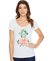 Tommy Bahama - Floral Pineapple Short Sleeve Tee