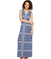 Tommy Bahama - Greek Grid Sleeveless Maxi Dress