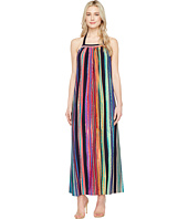 Maggy London - Painted Stripe Maxi Dress