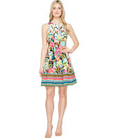 Maggy London - Fiesta Flower Fit & Flare Dress