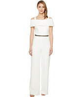 Badgley Mischka - Off the Shoulder Jumpsuit