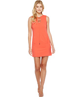 Tahari by ASL - Lace-Up Shift Dress