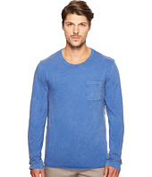 Alternative - Brushed Supima Cotton w/ Sun-Dried Wash Saltwater Long Sleeve Tee