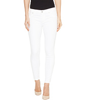 Hudson - Krista Super Skinny Crop Five-Pocket Jeans in White