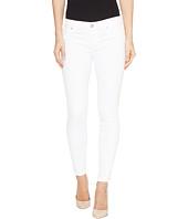 Hudson - Krista Super Skinny Crop Five-Pocket Jeans in White