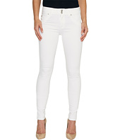 Hudson - Collin Mid-Rise Skinny Flap Pocket Jeans in White