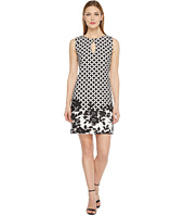 Christin Michaels - Beatrice Sleeveless Keyhole Dress