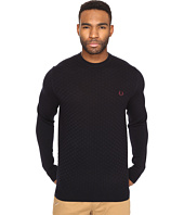 Fred Perry - Oxford Texture Crew Neck