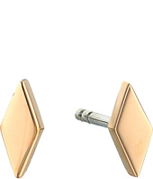 Fossil - Diamond-Shaped Studs Earrings