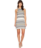 Jack by BB Dakota - Andress Jacquard Fringe Trim Dress