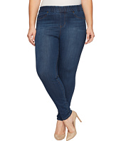 Liverpool - Plus Size Sienna Pull-On Leggings Silky Soft Denim in Petrol Wash