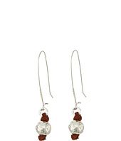 Robert Lee Morris - Sculptural Bead Long Drop Earrings