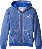 True Religion Kids - Marled French Terry Hoodie (Big Kids)