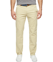U.S. POLO ASSN. - Slim Straight Five-Pocket Denim Jeans in Khaki Stone