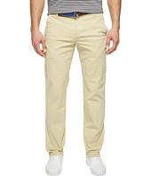 U.S. POLO ASSN. - Slim Straight Five-Pocket Denim Jeans in Khaki Stone