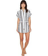 Plush - Soleil Striped Linen Beach Dress