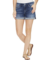 Mavi Jeans - Vanna Shorts in Mid Indigo Ripped Vintage