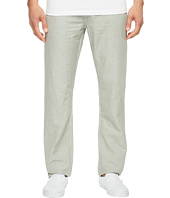 AG Adriano Goldschmied - Graduate Tailored Leg Linen Pants in Sulfur Grey Haze