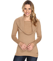MICHAEL Michael Kors - Cowl Long Sleeve Sweater