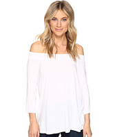 Michael Stars - Jersey Lycra 3/4 Sleeve Off Shoulder Top