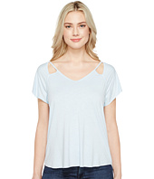 Michael Stars - Mavie Slub Jersey V-Neck Tee