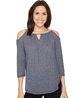 Michael Stars - Brooklyn Jersey Front To Back Cold Shoulder