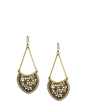 Lucky Brand - Lace Openwork Large Earrings