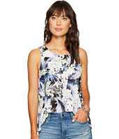 kensie - Tropical Blues Top KS6U4017