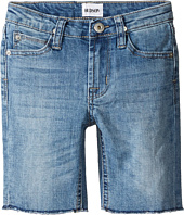 Hudson Kids - Hess Cut Off Slim Straight Shorts in Rhythm Blue (Toddler/Little Kids/Big Kids)
