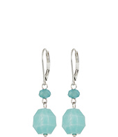 The Sak - Double Bead Drop Earrings