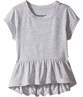 Hudson Kids - Heather Jersey Peplum Tee (Toddler/Little Kids)