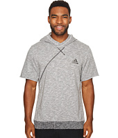 adidas - Cross Up Short Sleeve Hoodie
