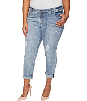 KUT from the Kloth - Plus Size Catherine Boyfriend in Heartiness/Medium Base Wash