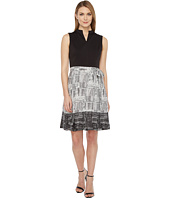 Ellen Tracy - Printed Skirt Dress