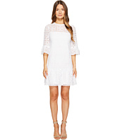 Kate Spade New York - Lace Flounce Shift Dress